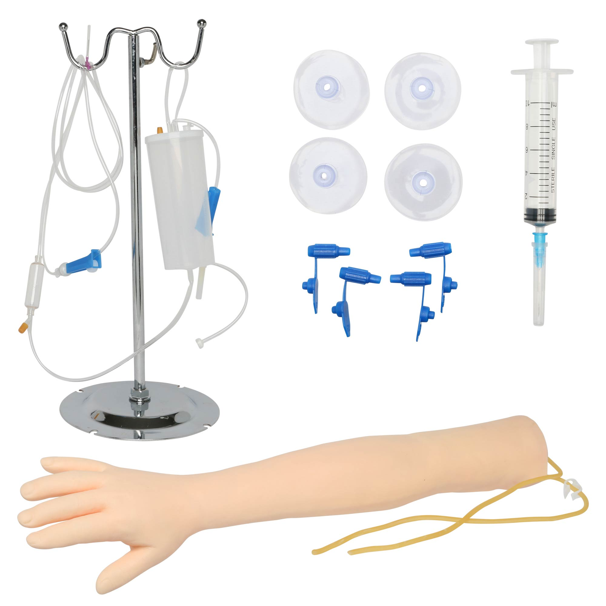 Iv And Phlebotomy Training Arm For Practicing Venipuncture Techniques